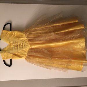 Handmade Belle Costume for 4-year-old
